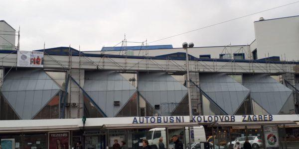 Autobusni kolodvor Zagreb - Glavni ulaz